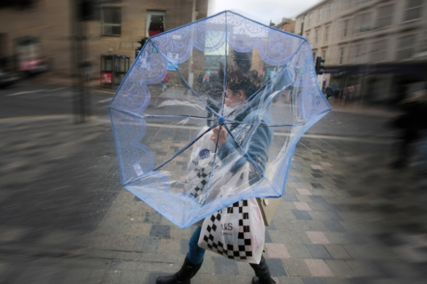 Weather warning as Storm Helene blows in